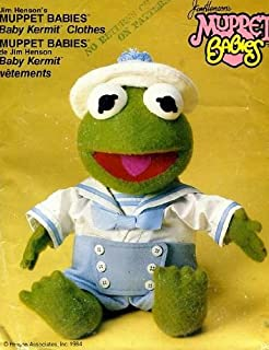 Vogue 9178 Sailor Outfit Baby Kermit the Frog by Jim Henson Vintage Sewing Pattern