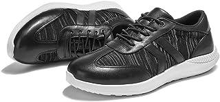 [ALX WANG] スポーツシュー ズ ランニングシューズ スニーカー ジム 運動 靴 ウォーキングシューズ アウトドアトレーニングシューズ カジュアル ,ィース クッション性 軽量 通気 靴擦れ無し 幅広甲対応 本革 通気快適 滑り止め振動減少