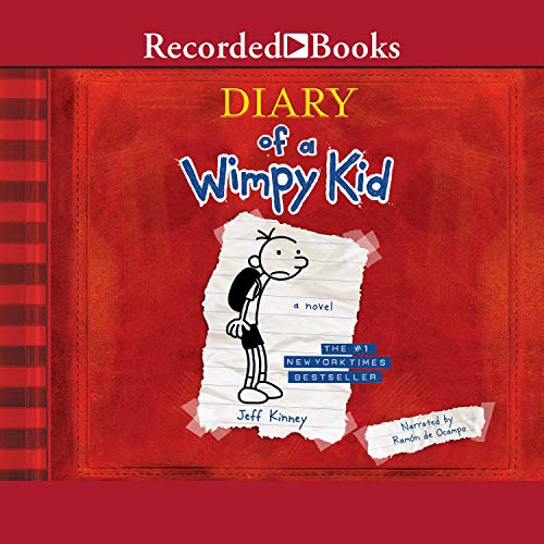 Diary of a Wimpy Kid audiobook cover art