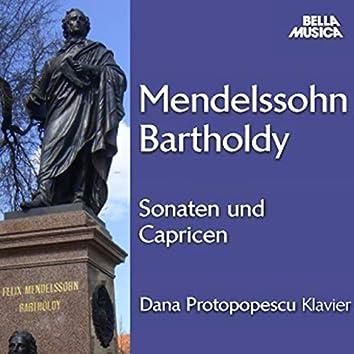 Mendelssohn: Sonaten und Capricen