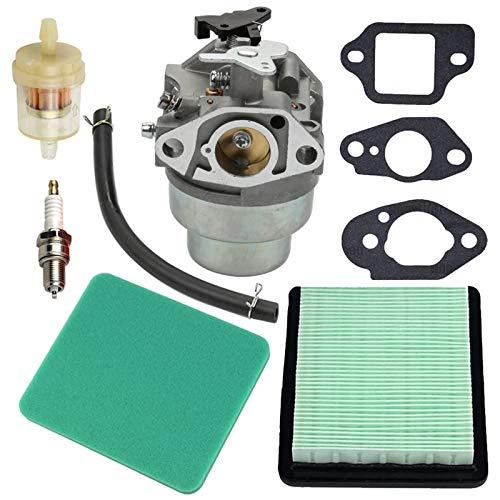Hardware Pinhaijing GCV160 Carburetor Tune Up Kit Air Filter for GCV160A GCV160LA GCV160LE Engine HRB216 HRR216 HRS216 HRT216 HRZ216 Lawn Mower