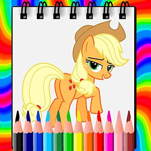 Pony Coloring Book 2021