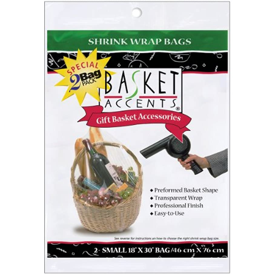 Basket Accents Shrink Wrap Bags Small 18