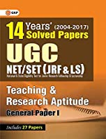 UGC NET/SET (JRF & LS) 14 Years' Solved Papers Teaching and Research Aptitude Paper - I 2018