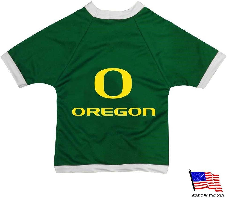 Oregon Ducks Athletic Mesh Pet Jersey  XLarge