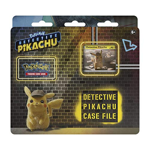 Pokemon TCG: Detective Pikachu Case File | 3 Booster Pack | A Promo Card | A Metallic Coin | Genuine Cards