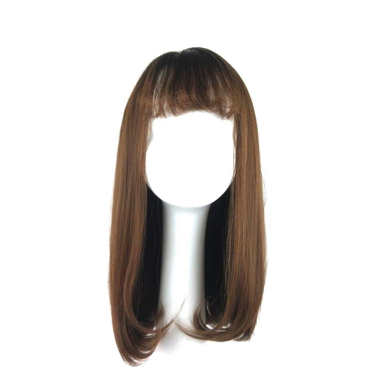 抹消組適格Summerys 女性のための合成かつら自然に見える長い波状別れ耐熱交換かつら