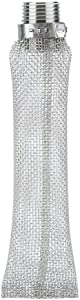Stainless Steel Beer Filter, 1/2 Inch Npt Beer Screen Mesh Filter For Home Brew Beer Kettle Mash Tun (6 inch)