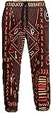 Pantalones de Chándal Aborígenes con Diseño de Arte Africano Pantalones Deportivos para Correr Pantalones Deportivos para Hombres S
