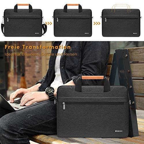 NIDOO Laptop Aktentasche 11-12.5 Zoll Laptoptasche Laptop hülle Handtasche Schulter Tasche für 12.9
