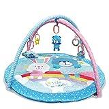MNSSRN Baby-Bären-Häschen-Krabbeldecke, Kinder-Fitness-Gamepad, verdickte Sicherheits- und Umweltschutz-Kinderzimmerdekoration