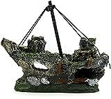 Estatua Escultura Estatuillas al aire libre Escritorio Hecho a mano Decoración de la decoración for el hogar Decoraquarium for el hogar Decoración de naufragios, la resina Sinker Specal Fish Tank Deco