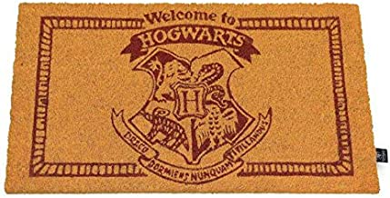 HARRY POTTER Doormat Welcome to Hogwarts Doormat Official Merchandising Reference DD Home Textiles Unisex Adult, Multicolo...
