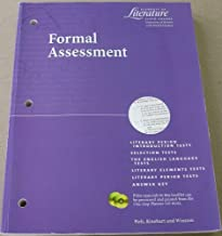 Elements of Literature Formal Assessment Sixth Course