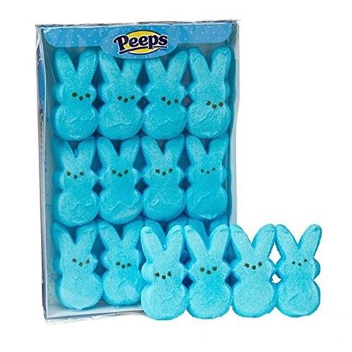 Peeps Marshmallow Candy Bunnies - Blue from