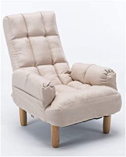Kronleuchter Divano Divano a Due posti Comodo Divano Pieghevole reclinabile in Tessuto (Color : White)