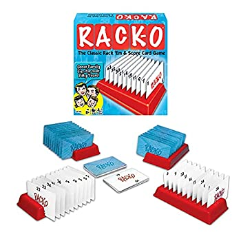 Winning Moves RACK-O Retro package Card Game