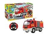 Revell Junior Kit RC- Camion de Pompier télécommandé à Construire à partir de 4 Ans, 00970, Rouge