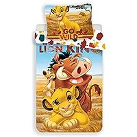 Le Reoi Lion - Funda nórdica (140 x 200 cm), diseño de Disney Disney