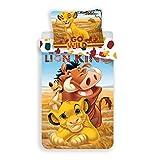 Le Roi Lion – Parure da letto – Copripiumino in cotone