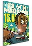Instabuy Poster Black Mirror Vintage 14 - A3 (42x30 cm)