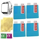 DZ09 smart watch screen protector with 4PCS in one pack MADE of Nano Material