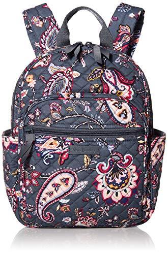 Vera Bradley Signature Cotton Small Backpack, Felicity Paisley