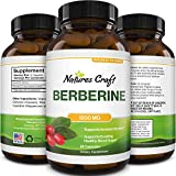 Berberine 1200mg Weight Loss Supplement - Berberine HCL Active PK Metabolism Booster for Heart Health - Antioxidant Supplement and Immune System Booster for Liver Support Sugar Balance and Mood Boost