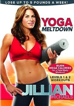 DVD Jillian Michaels: Yoga Meltdown Book