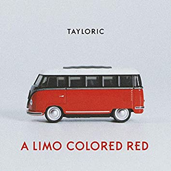 A Limo Colored Red