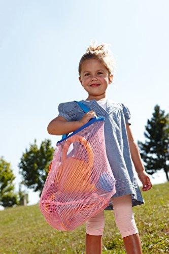HABA 7782 - Netztasche | Praktische Tasche zum Transport von Sandspielzeug und anderen Spielsachen | Nasses Spielzeug kann in der Tasche trocknen