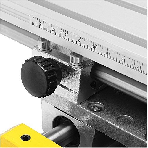 YEEZUGO Multifunction Worktable Milling Working Table Milling Machine Compound Drilling Slide Table For Bench Drill (Heavy-Sized)