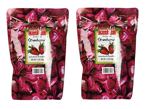 Trader Joe's Freeze Dried Strawberries (2 Pack)