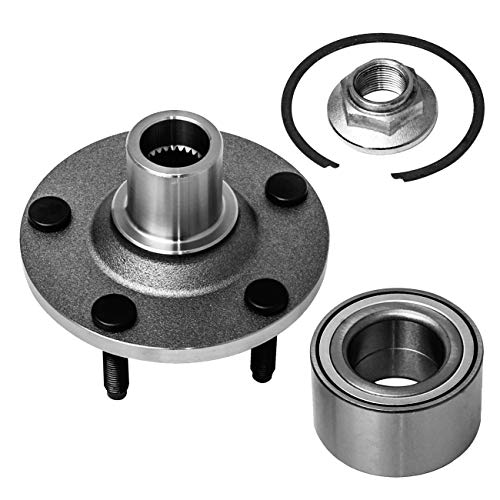 TUCAREST 518515 Front Wheel Bearing and Hub Assembly Compatible With 2001 02 03...