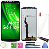 G6 Play LCD Screen Replacement Touch Display Digitizer Assembly 5.7' (Black) for Motorola Moto G6 Play XT1922-1 XT1922-2 XT1922-3 XT1922-4 XT1922-5 XT1922-6 XT1922-7 XT1922-10 G6 Forge XT1922-9