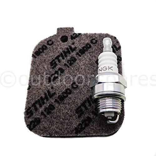 Genuine filtro aria & Plug Service kit per Stihl soffiatori & Shredders