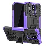 LFDZ LG K40 case, Heavy Duty Tough Armour Rugged Shockproof