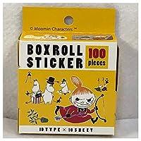 ムーミン ボックスロールステッカー ムーミン絵本の世界展 限定BOX ROLL STICKER