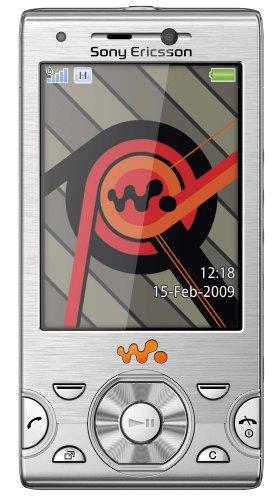 Sony Ericsson W995 Handy (UMTS, 8.1 MP, UKW-Radio, 8GB) Cosmic Silver