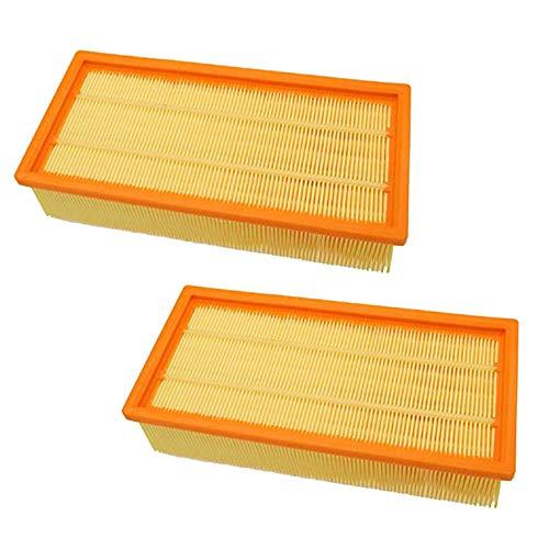 Hayatec - 2 filtri a pieghe piatti per aspirapolvere Kärcher WD5 WD 5 MV5 Premium MV4 MV5 MV6, sostituisce filtri originali come 2.863 – 005.0