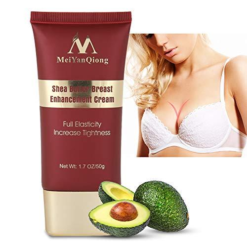 Brustvergrößerungscreme, Frauen Shea Butter Brust Straffende Büste Vergrößerung Lifting Creme Hautpflegeergänzung für Schönheit Körperform