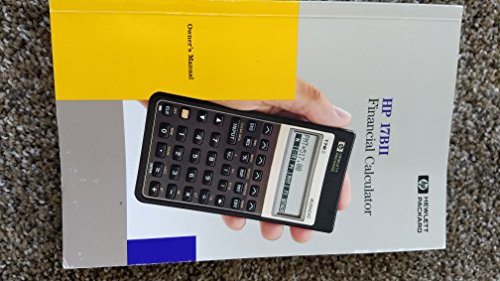 Compare Textbook Prices for HP INC. - HP 17BII+ Financial Calculator  ISBN 0751443507532 by Editor