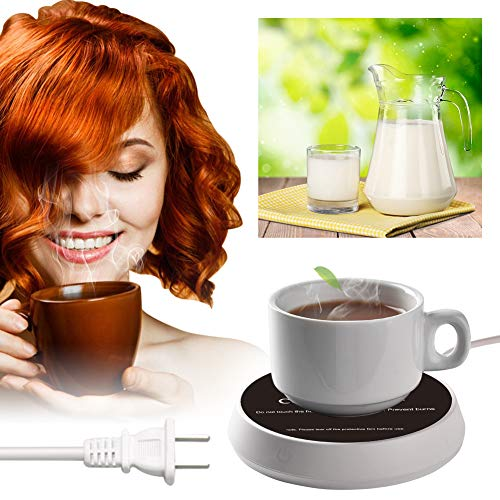 Coffee Warmer,Coffee Mug Warmer,Electric Beverage Warmer,Smart Coffee Warmer With Two Temperature Settings,Office Home Use Beverage Warmer Plate for Coffee, Milk, Tea, Water, Best Christmas Gift