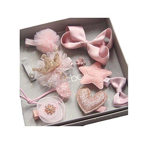 Loveble Hair Accessoires Coffret Cadeau Barrettes Barrettes pour Bébé Filles