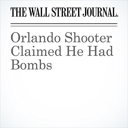 Orlando Shooter Claimed He Had Bombs cover art