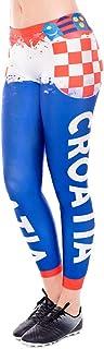 XiuZP チアリーダーパフォーマンス服非対称サッカーユニフォーム3Dデジタルプリント足パンツ屋外ランニングパンツヨガパンツタイツスポーツフィットネス用女性複数選択 (Color : Blue, Size : M)