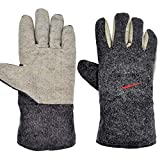 ZFZ Hochtemperatur GlovesAnti-Verbrühungen Handschuhe, Industrial Grade Ofen Handschuhe, Can Für Backen in der Mikrowelle verwendet Werden tragen Dicke Schutzhandschuhe