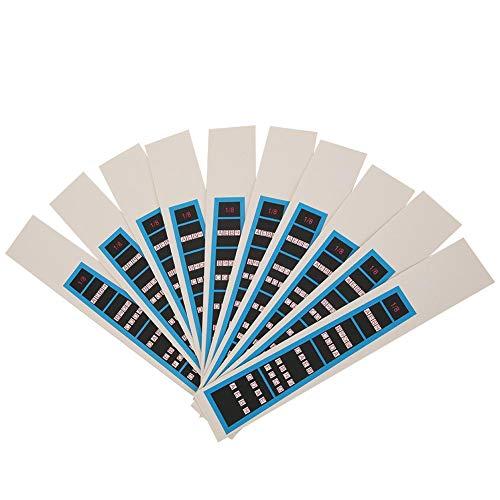 Instrumentenzubehör 3/4 Violinaufkleber Notizenpositionen Griffbrettführung, Notizenführung(BC03 1/8 blue edge)