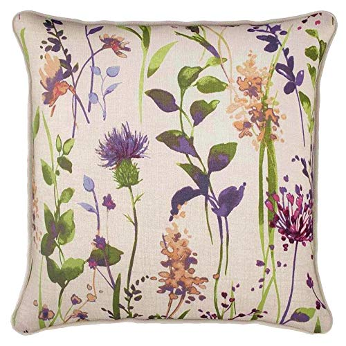 ShawsDirect Hampshire, Watercolour Floral Pattern (Cushion Cover - 43cm x 43cm (17' x 17'))