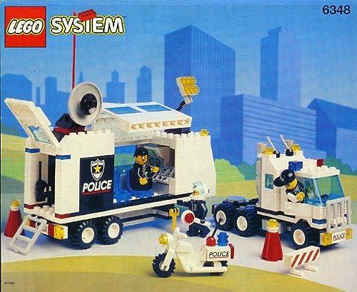 LEGO System 6348 Mobile Polizei Einsatzzentrale